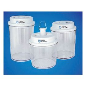Fisherbrand™ Circular Bottom Desi-Vac™ Container Desiccators with Vacuum Pump