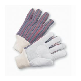West Chester Leather-Palm Canvas Gloves