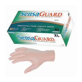 MCR Safety SensaGuard™ Industrial Grade Vinyl Gloves