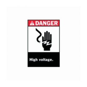 Brady™ Danger High Voltage Signs
