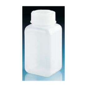 BrandTech™ Wide Mouth Square Bottles