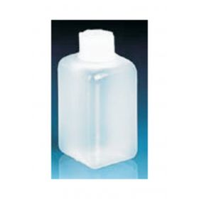 BrandTech™ Square Bottles with Screw Caps