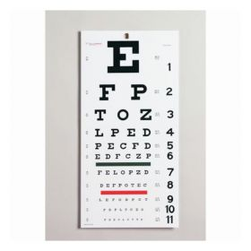 Moore Medical Edwards Medical™ Snellen Eye Chart