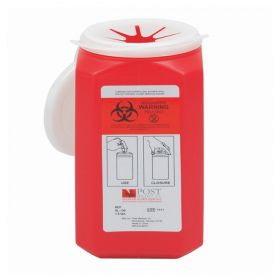 Post Medical Locking-Top Sharps Containers