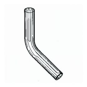 Labconco™ Fast-Freeze™ Flask Adapters, Stainless Steel; 45° Bend; 0.75 in.