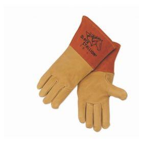 Black Stallion™ Standard Grain Pigskin MIG Welding Gloves