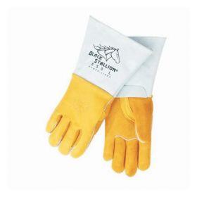 Black Stallion™ Premium Grain Elkskin Stick Welding Gloves