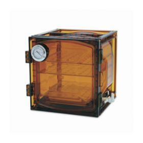 Bel-Art™ SP Scienceware™ Lab Companion Cabinet Style Vacuum Desiccators, Amber