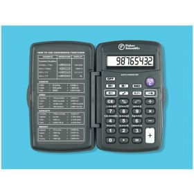 Fisherbrand™ Compact-Sized Metric Conversion Calculator, Metric Conversion Calculator; No Battery