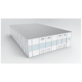 PortaFab CleanLine™ S3000 Modular Wall System Cleanroom - ISO 8