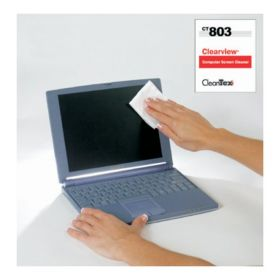 Advantus Cleantex™ Clearview™ Computer Screen Wipes