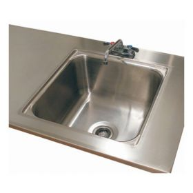Advance Tabco™ Single Sinks Welded in Tables