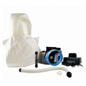Bullard™ Evolutionary Air Hazardous Location (EVAHL) PAPR System Accessory, Double Bib Hood