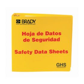 Brady™ Globally Harmonized System (GHS) SDS Binders