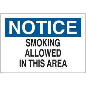 Brady™ No Smoking Signs