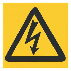 Brady™ Electrical Hazard Sign: ELECTRICAL (w/Picto)