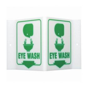 Brady™ High Visibility Signs - EYE WASH (w/Picto)