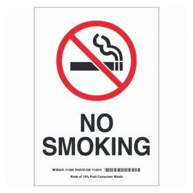 Brady™ No Smoking Sign (w/Picto)