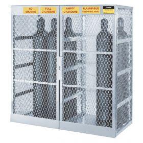 Justrite™ Cylinder Storage Locker