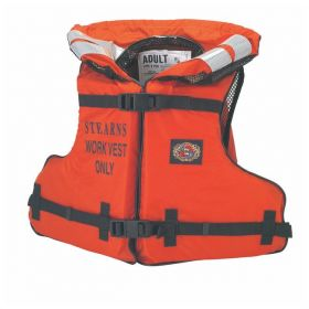 R3 Safety™ Stearns Nylon-Shell Work Floatation Vest