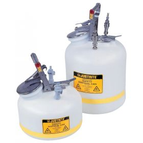Justrite™ Prefabricated Quick-Disconnect Safety Disposal Cans