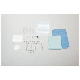 Medline™ Laceration Trays with Comfort Loop Instruments