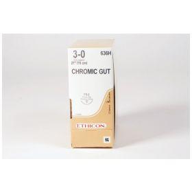 Medline™ Suture, 0 27 Chromic Gut, CT-1