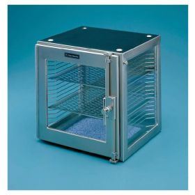 Fisherbrand™ Stainless Steel Desiccator with Stainless Steel Shelves