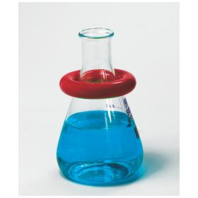 Bel-Art™ SP Scienceware™ Round Lead Ring Flask Weights with Vikem™ Vinyl Coating
