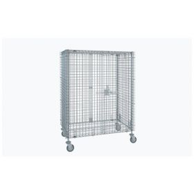 Metro™ Standard-Duty Mobile Security Units-Stainless Steel