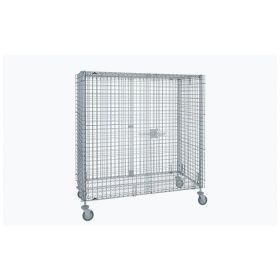 Metro™ Standard-Duty Mobile Security Units, Stainless Steel