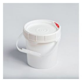 Youngstown Barrel & Drum Plastic .6 gal OH pail White