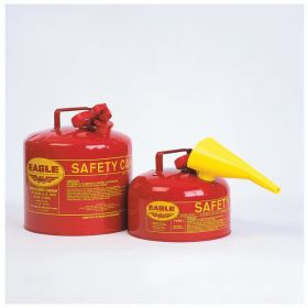 Eagle™ Galvanized-Steel Safety Cans