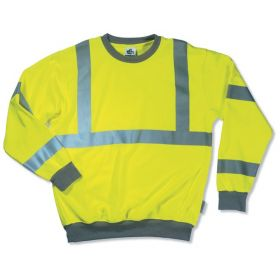 Ergodyne™ GloWear™ 8397 Class III Hi-Vis Sweatshirt