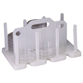 Bel-Art™ SP Scienceware™ Contact Plate / Petri Dish Rack