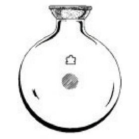 DWK Life Sciences Kimble™ Kontes™ Round Bottom with SJ Joint, Heavy Wall Boiling Flasks