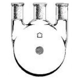 DWK Life Sciences Kimble™ Kontes™ Three Neck Round Bottom Heavy Wall Flasks