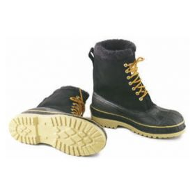 Dunlop™ Onguard™ Men's Plain Toe Terra-Lites Leather Boots with Commando Outsole