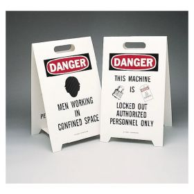 Brady™ Reversible Floor Signs