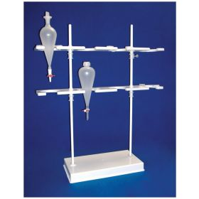 Bel-Art™ SP Scienceware™ Imhoff Cone and Separatory Funnel Rack