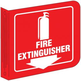 Brady™ Fire Extinguisher (W/PICTO) Standard L Sign