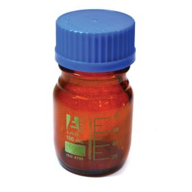 Eisco™ Amber Reagent Bottle with Screw Cap