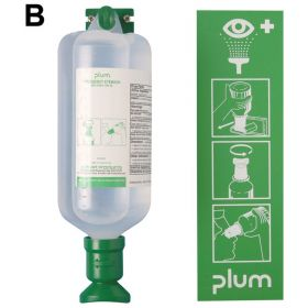Bel-Art™ SP Scienceware™ PLUM™ Emergency Open Eye Wash Stations