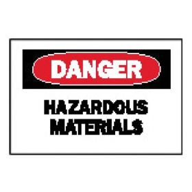 Brady™ Chemical and Hazardous Materials Signs: Hazardous Materials