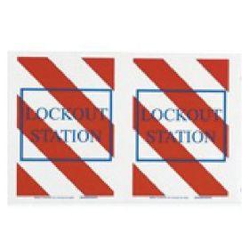 Brady™ Lockout Station Floor Sign