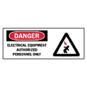 Brady™ Electrical Hazard Signs: Fiberglass