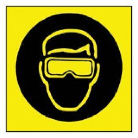Brady™ Sign: Goggles Pictogram
