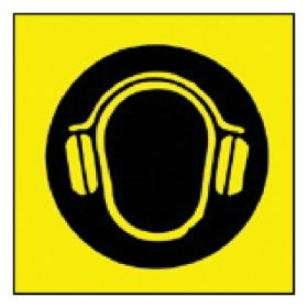 Brady™ Ear Protection Pictogram Sign
