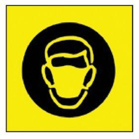 Brady™ Sign: Face Mask Pictogram