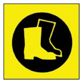 Brady™ Sign: Boots Pictogram